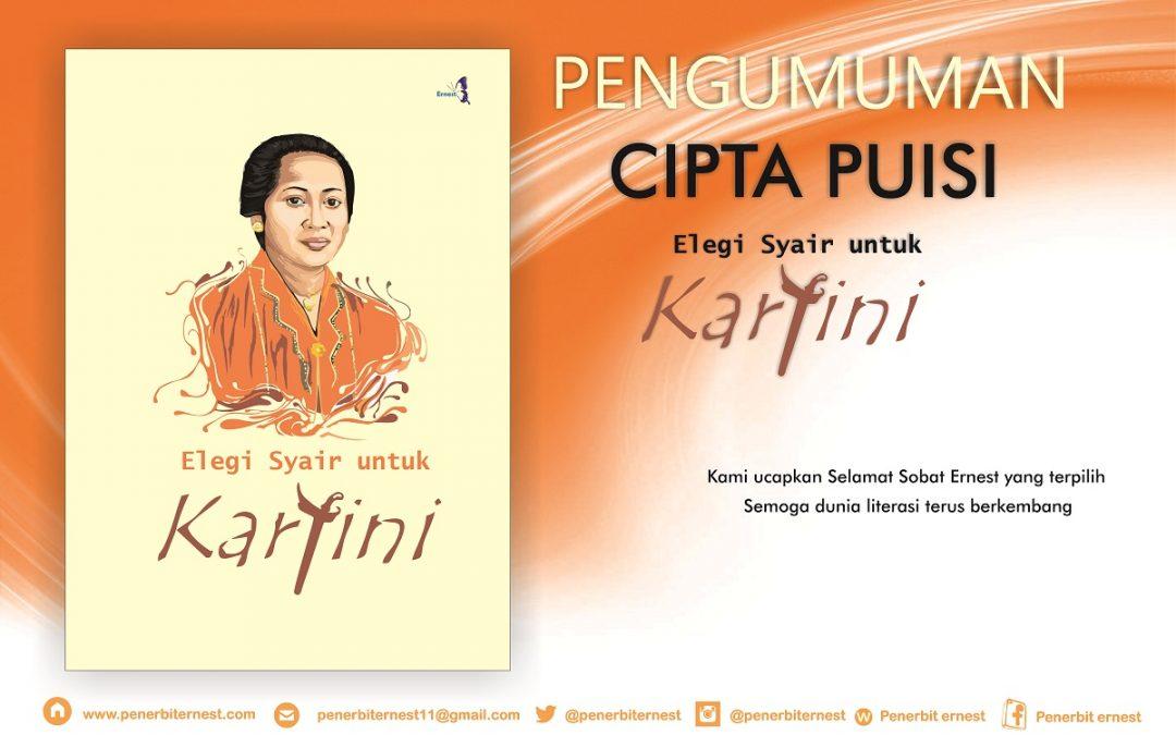 Pengumuman Kontributor Terpilih dalam Cipta Karya Puisi Elegi Syair Untuk Kartini