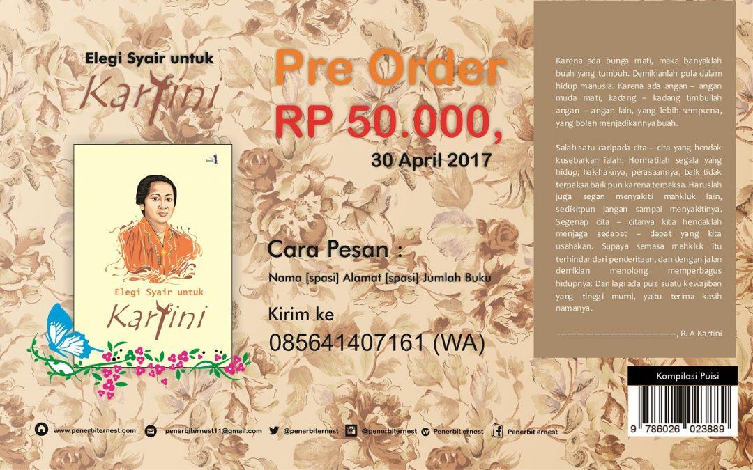 Pre Order Elegi Syair untuk Kartini