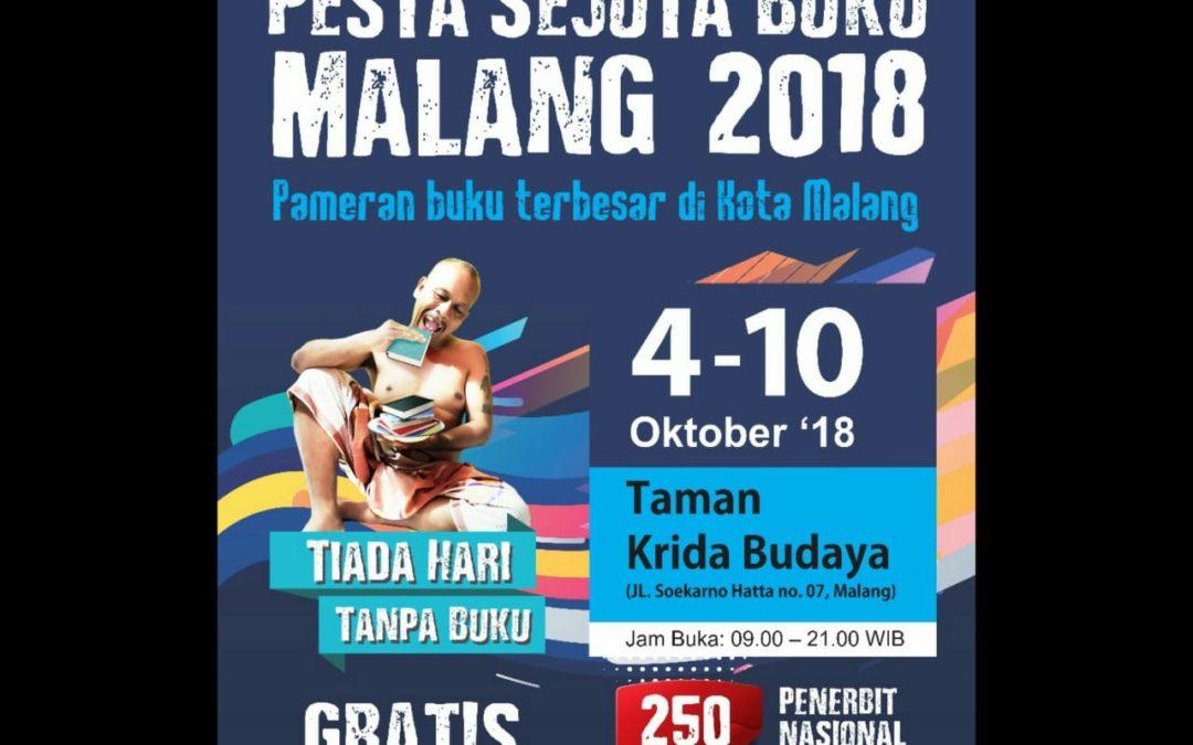 "Pesta Malang Sejuta Buku 2018 ""Tiada Hari Tanpa Buku"""